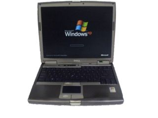 Dell Latitude D610 WiFi Laptop PM 2 13GHz 1GB 40GB Combo XPP Free