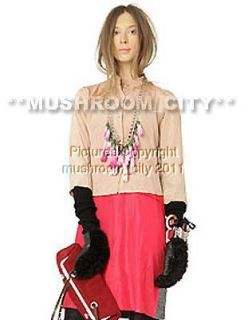 Darling Marni 09FW Pink Flowers Metal Chain Necklace