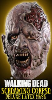 Official The Walking Dead Screaming Corpse Zombie Mask