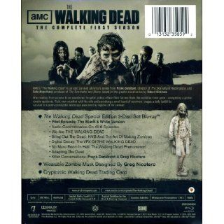 Blu Ray Sets The Walking Dead Season 1 2 Limited Edition Zombie Head