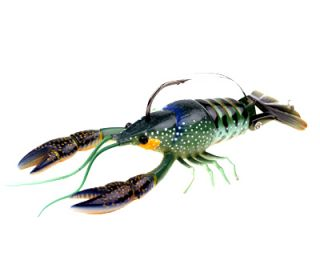 River2Sea Larry Dahlberg Clackin Crayfish Blue Olive Without Weedguard