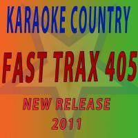 Country Karaoke FTXC405 Fast Trax CDG Original Factory Disc not CDR
