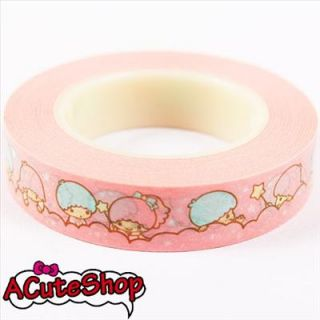 Little Twin Stars Paper Craft Deco Tape Deco Tape 10mm Gift Package