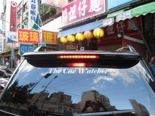 Rear Window Hatchback Spoiler for Daihatsu Terios 2006 2008