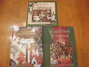 Cottage Christmas Quilt Decor Books Lynette Jensen