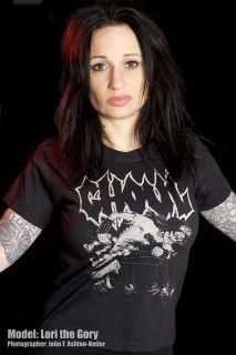 Ghoul Shirt 1 Black Mosher Death Metal Grindcore Gore
