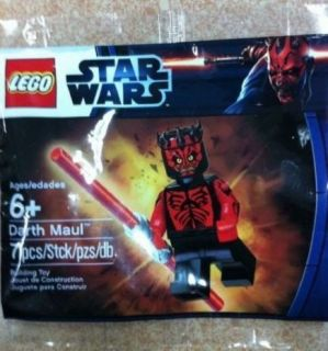 Lego Star Wars Minifig SEALED Darth Maul Exclusive Promo Set Super