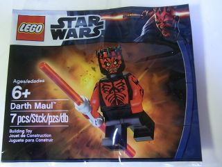 Must Have Lego Star Wars Minifig SEALED Darth Maul Exclusive Promo Set