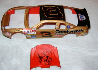 Model Body Autographed Signed Dale Earnhardt NASCAR Car