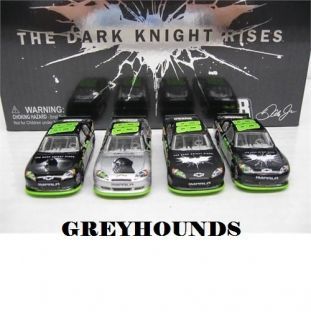 2012 Dale Earnhardt Jr 88 Batman  The Dark Knight Rises  1 64 4 Car