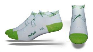 DeFeet Womens Socks Dragon Fly SpeeDe 1P