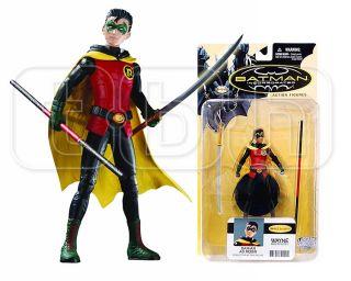 DAMIAN AS ROBIN action figure BATMAN INCORPORATED inc DC DIRECT