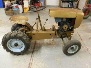 David Bradley Suburban Garden Tractor Antique