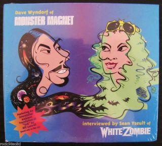 MONSTER MAGNET WHITE ZOMBIE Promo Interview Music Cd Digipak