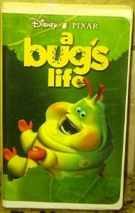Disneys A BUGS LIFE Movie VHS FREE U.S. SHIPPING