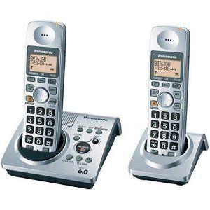 Panasonic DECT 6 0 Series Dual Handset Cordless Phone System w