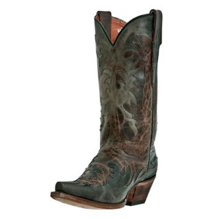 Dan Post Chocolate Delight Snip Toe Cowgirl Boot Chocolate & Charcoal