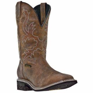 Mens Western Work Boots Dan Post Nogales Waterproof D M Brown DP69791
