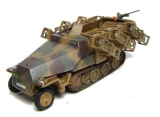German WWII 251 1 D Halftrack with Rockets Trident 90155 for 1 87