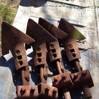 David Bradley Cultivator Shanks and Shovels
