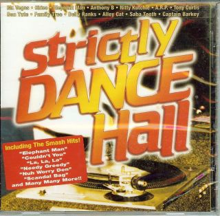 Strictly Dancehall Vol 1 CD BRAND NEW SEALED DJ Dance Reggae