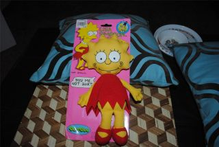 Collectible Rag Doll Plush DanDee Toys New 10 1990 Simpsons