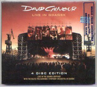 DAVID GILMOUR, LIVE IN GDANSK + EXTRAS. LIVE IN THE GDANSK SHIPYARD