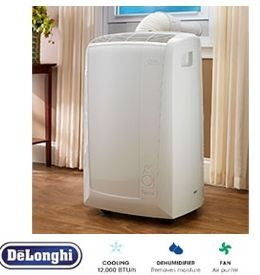 delonghi pinguino 12000 btu portable room air conditioner pac n120ec