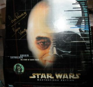 Star Wars Darth Vader 12 Figure Autograph Dave Prowse