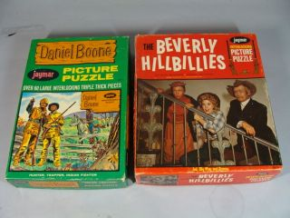 Beverly Hillbillies and Daniel Boone 60s V Puzzle Lo
