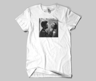 David Lynch and Isabella Rossellini Blue Velvet T Shirt