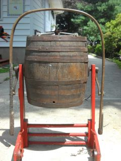 Antique Butter Churn Dobson Favorite Rockford Ill