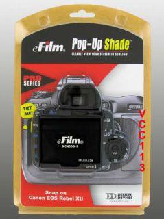 Delkin Pro Pop Up Screen for Canon EOS Rebel XTi 400D