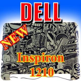 New Dell Inspiron Mini 1210 LCD Back Lid Top Cover K715M Designer City