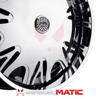 Set of 4 New Davin Spinners Dignitary 28x10 Blank 5X 6X 10 Wheels Rims