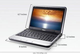 New Dell Mini 9 Inspiron 910 Laptop Notebook Black Windows XP Home