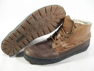 Polo Ralph Lauren Mens Delmont Chukka Lace Up Boots Tan Briarwood 13