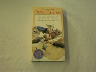 Tom Thumb Dom DeLuise Narrates This Classic Tale VHS 726697800135