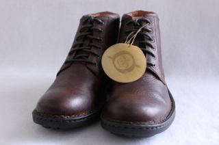Born Dax Mens Brown Leather Shoe Boot Size 13 EUR 47 5