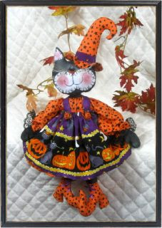 Black Cats Kooky Little Boo Pattern 119 Ginger Creek Crossing