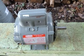 DAYTON 5K453B 1 2HP 1725 RPM BELT DRIVE FURNACE BLOWER MOTOR