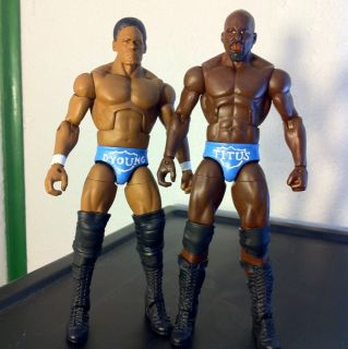 Wwe Mattel Elite Darren Young Titus Oneil Prime Time Players PTP