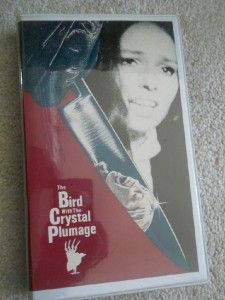 with The Crystal Plumage Dario Argento Scarce Beta VCI Release