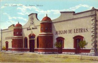 juarez mexico carcel jail 1931 juzgado de letras