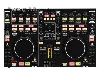 Denon MC3000 Pro DJ Controller w Built in 2 CH Mixer Virtual DJ