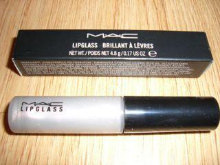 MAC COSMETICS LIPGLASS * PAS DE DEUX * NIB F/S 4.8 g