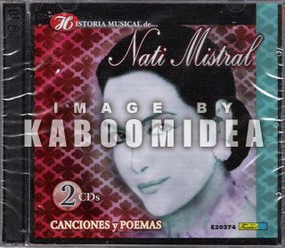 Mistral Historia Musical Canciones Y Poemas 2 CD Set New SEALED