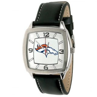 Denver Broncos NFL Football Wrist Watch Wristwatch Stainless Steel