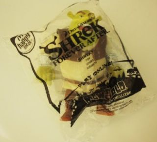 Shrek Ogre McDonalds Toy NIP Cake Topper Stocking Stuffer