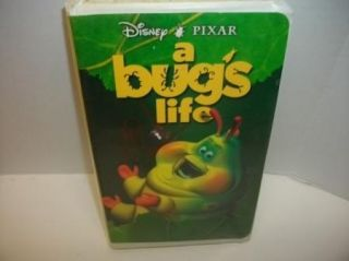 Walt Disneys Pixar A Bugs Life VHS Kids Cartoon Movie Video Tape